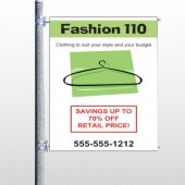 Fashion Hanger 526 Pole Banner