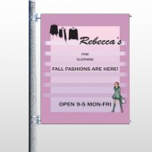 Fine Clothing 531 Pole Banner