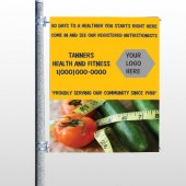 Healthy Tomato 404 Pole Banner