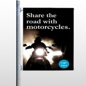 Motorcycle 106 Pole Banner