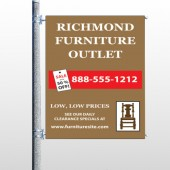 Outlet Chair 527 Pole Banner