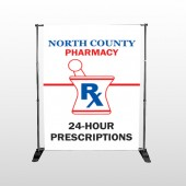 Pharmacy 101 Pocket Banner Stand