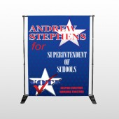 Superintendent 306 Pocket Banner Stand