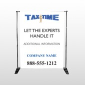 Tax Time 153 Pocket Banner Stand