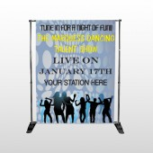 Talent Show 440 Pocket Banner Stand