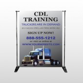 CDL Training 155 Pocket Banner Stand