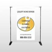 Construction 241 Pocket Banner Stand