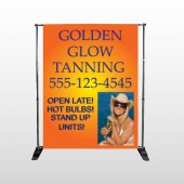 Golden Glow 491 Pocket Banner Stand