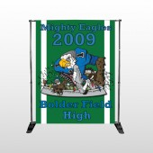 Green 50 Pocket Banner Stand