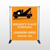 Mighty 128 Pocket Banner Stand
