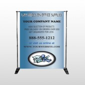 Paper And Figure 146 Pocket Banner Stand