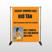 Rio Tan Beach 489 Pocket Banner Stand