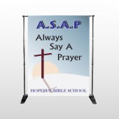 Sunrise Cross 164 Pocket Banner Stand