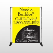 Yellow House Plan 216 Pocket Banner Stand