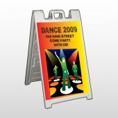 Dance Disco 518 A Frame Sign