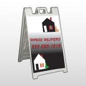 Househelper 245 A Frame  Sign