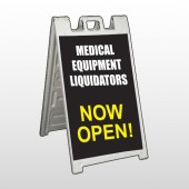 Medic Liquidation 331 A-Frame Sign