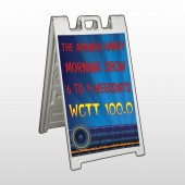 Amp Morning Show 439 A Frame Sign