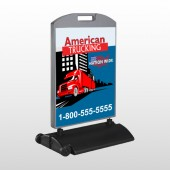 American Truck 295 Wind Frame Sign