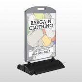 Bargain Bin 532 Wind Frame Sign