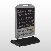 Black And Book 217 Wind Frame Sign