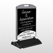 Black Planning 218 Wind Frame Sign