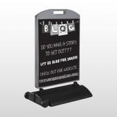 Blog Line 430 Wind Frame Sign