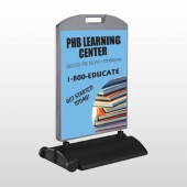 Book Learning 156 Wind Frame Sign