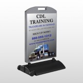 CDL Training 155 Wind Frame Sign
