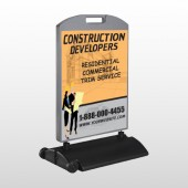 Contractors 645 Wind Frame Sign