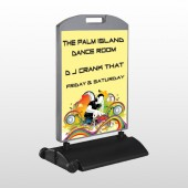 DJ Crank Night 369 Wind Frame Sign