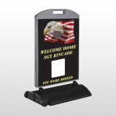 Eagle Flag 307 Wind Frame Sign