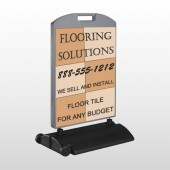 Flooring 247 Wind Frame Sign
