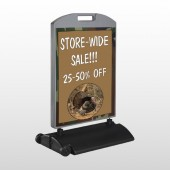 Hunt Turkey 409 Wind Frame Sign