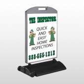 Inspector 361Wind Frame Sign