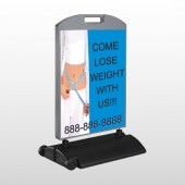Measure Loss 421 Wind Frame Sign