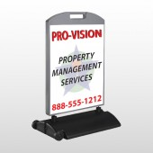 Property Management 247 Wind Frame Sign