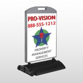 Property Management 363 Wind Frame Sign