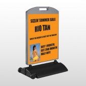 Rio Tan Beach 489 Wind Frame Sign