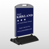 Senate 134 Wind Frame Sign