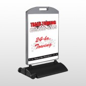 Towing 126 Wind Frame Sign