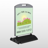 World Party Plan 520 Wind Frame Sign
