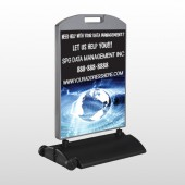 World Wide Web 437 Wind Frame Sign