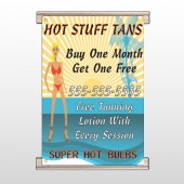 Hot Beach Tan 299 Track Banner