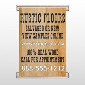 Wood Panel 248 Track Banner
