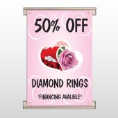 Pink Rose Hidden Ring 399 Track Banner