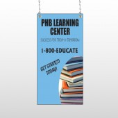 Book Learning 156 Window Sign