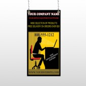Office 149 Window Sign