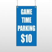 Parking 123 Window Sign