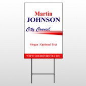 City Council 310 Wire Frame Sign
